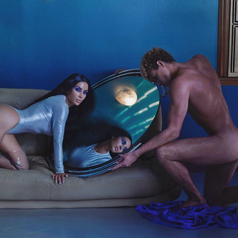 DAVID LACHAPELLE + KKW BEAUTY