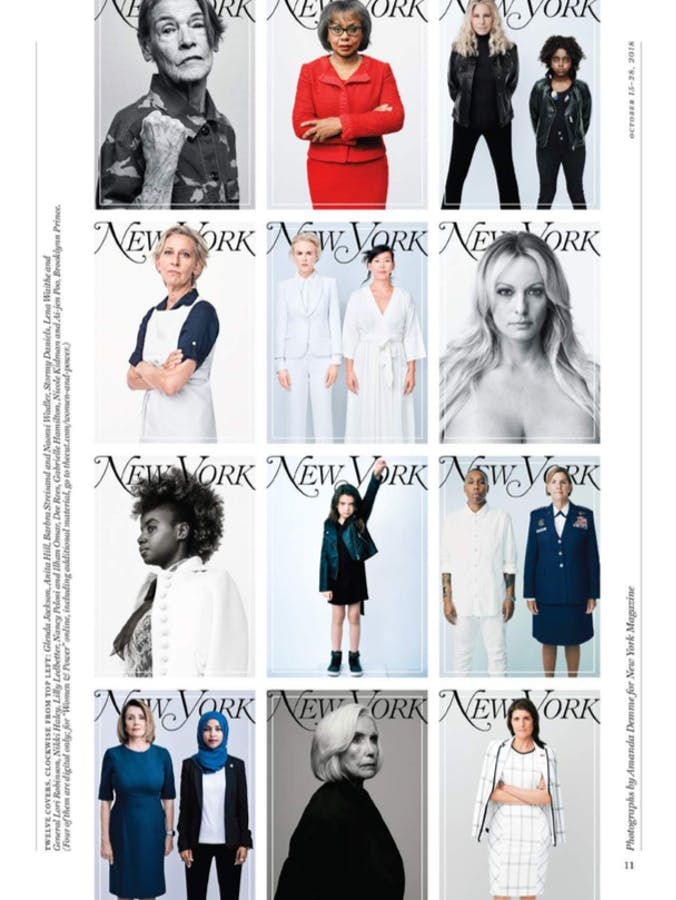 AMANDA DEMME + NEW YORK MAGAZINE